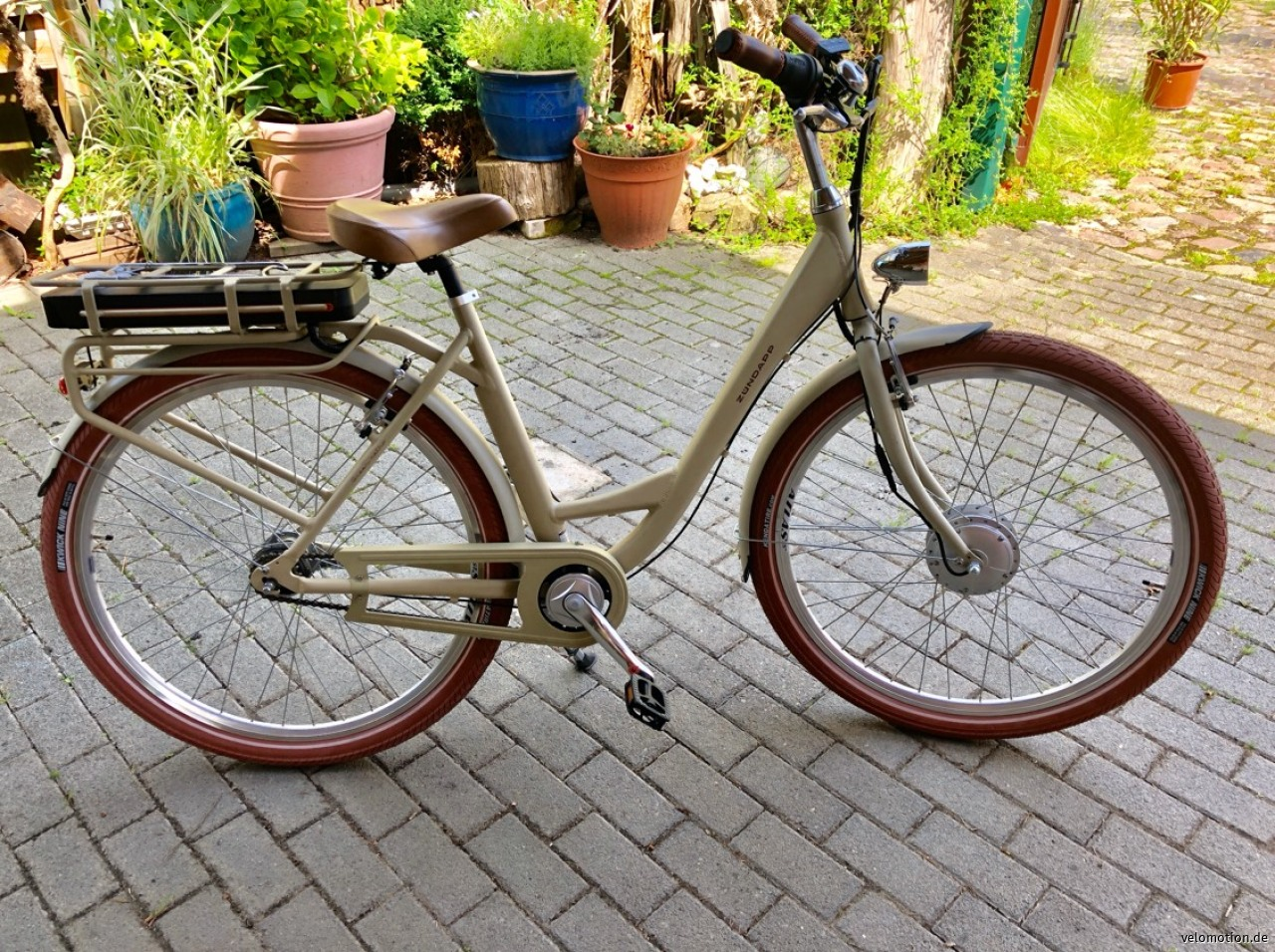 Alu-Retro-E-Bike , 28er