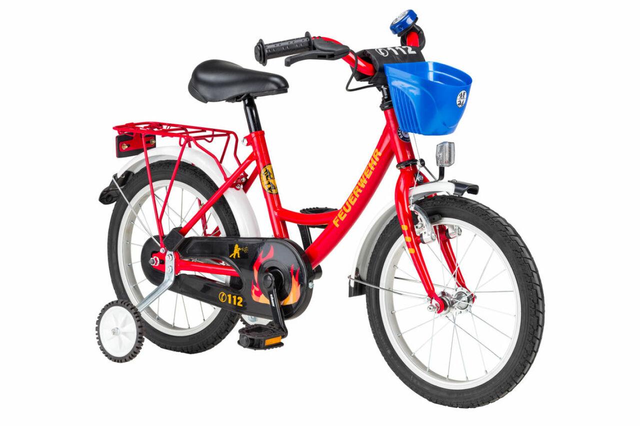 Feuerwehr Kinderrad 16
