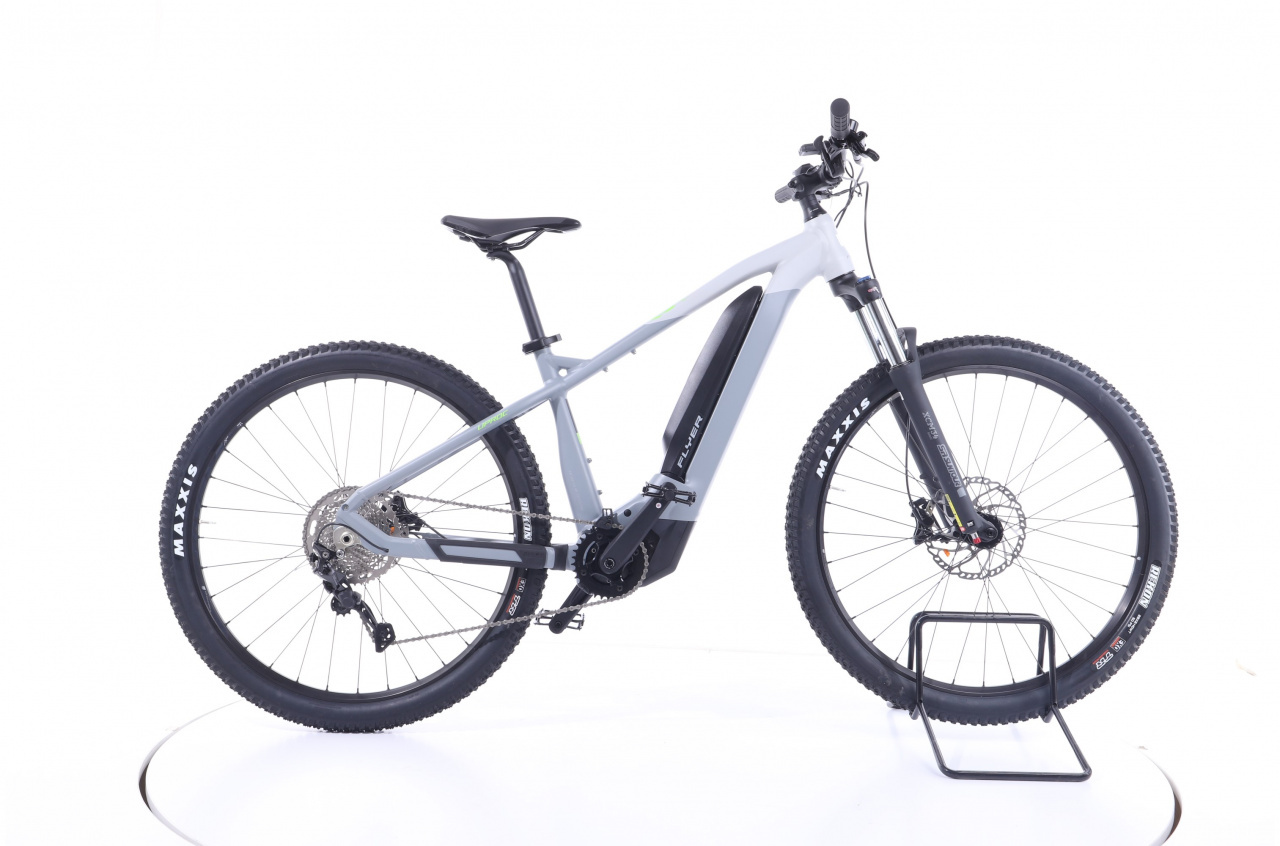Flyer, Uproc2 2.10  solid grey marble grey matt  630 Wh, E-Bike