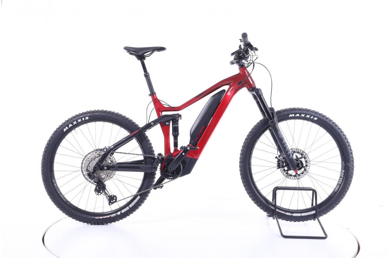 Flyer, Uproc7 6.30 Fully  mercury red  750 Wh, E-Bike