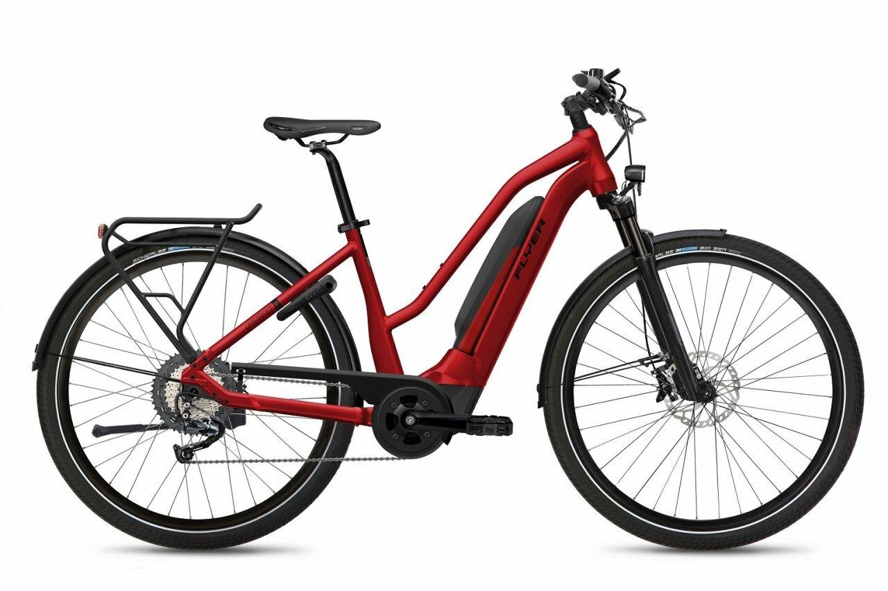 Flyer, Upstreet5 7.10  Damen Mercury Red Gloss, E-Bike