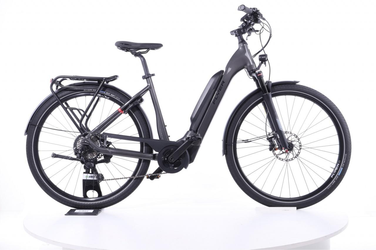 Flyer, Upstreet5 7.10  Tiefeinsteiger grau, E-Bike
