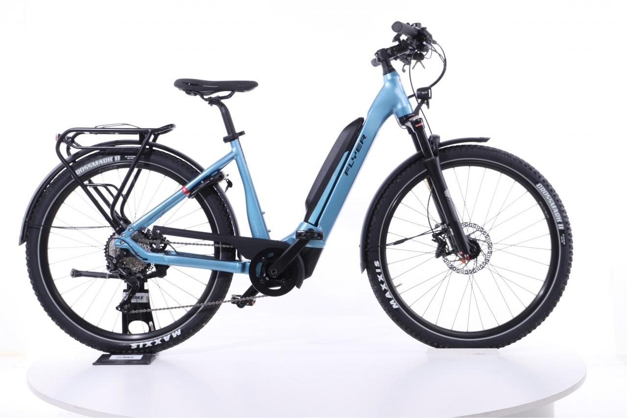 Flyer, Upstreet5 7.12  Tiefeinsteiger blau, E-Bike