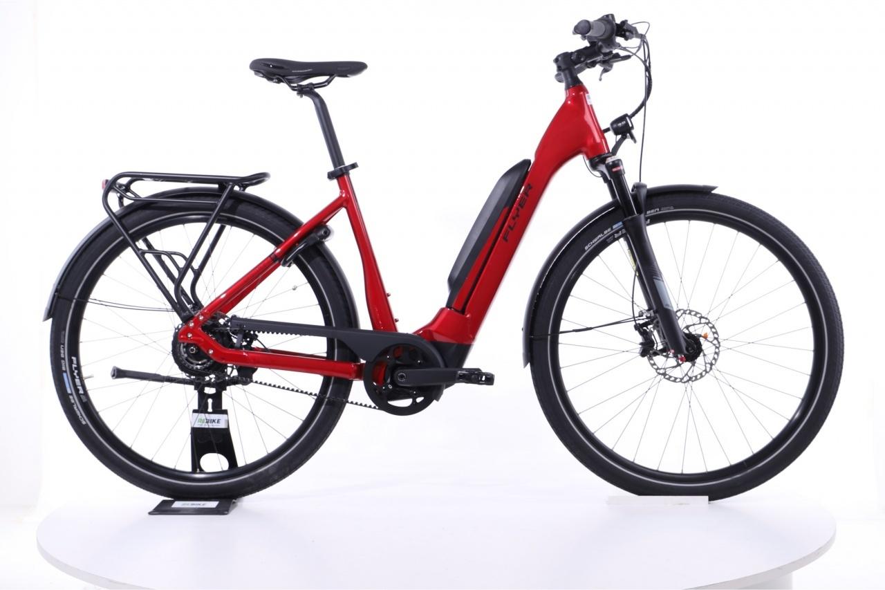 Flyer, Upstreet5 7.23  Tiefeinsteiger Mercury Red Gloss, E-Bike