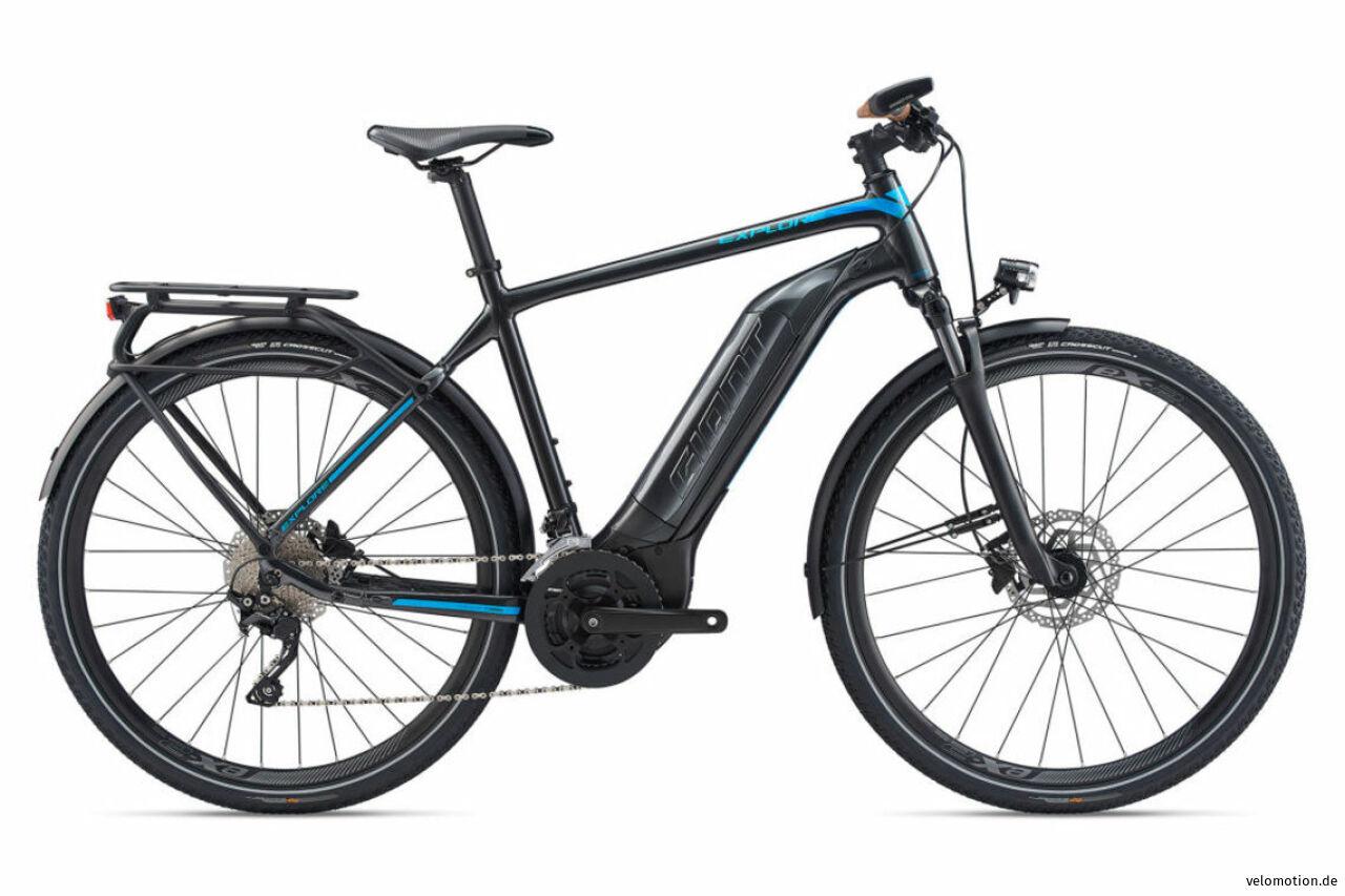 Giant, Explore E+1 GTS XL corebl, E-Bike