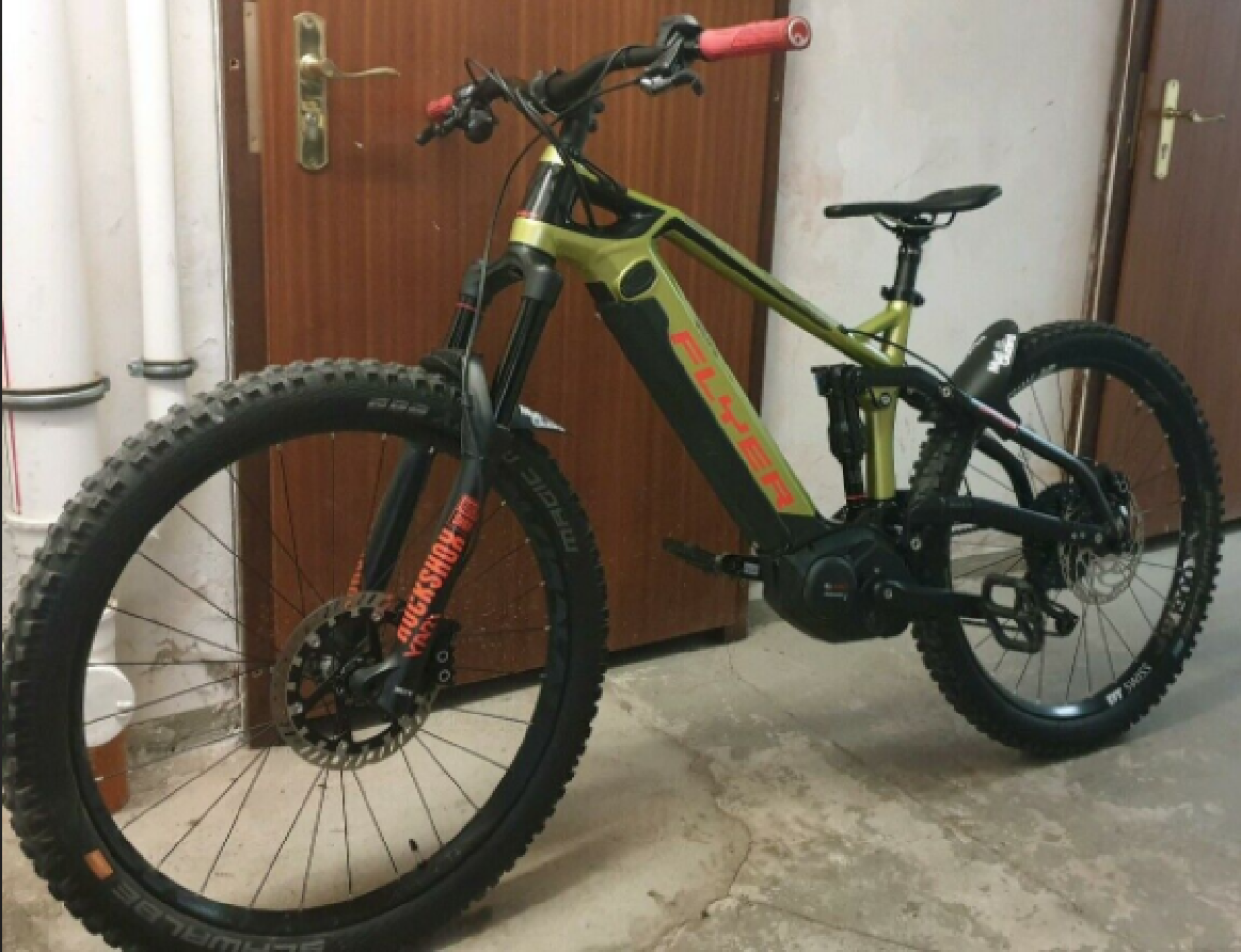 Flyer Uproc 6 4.1 Enduro E-Bike