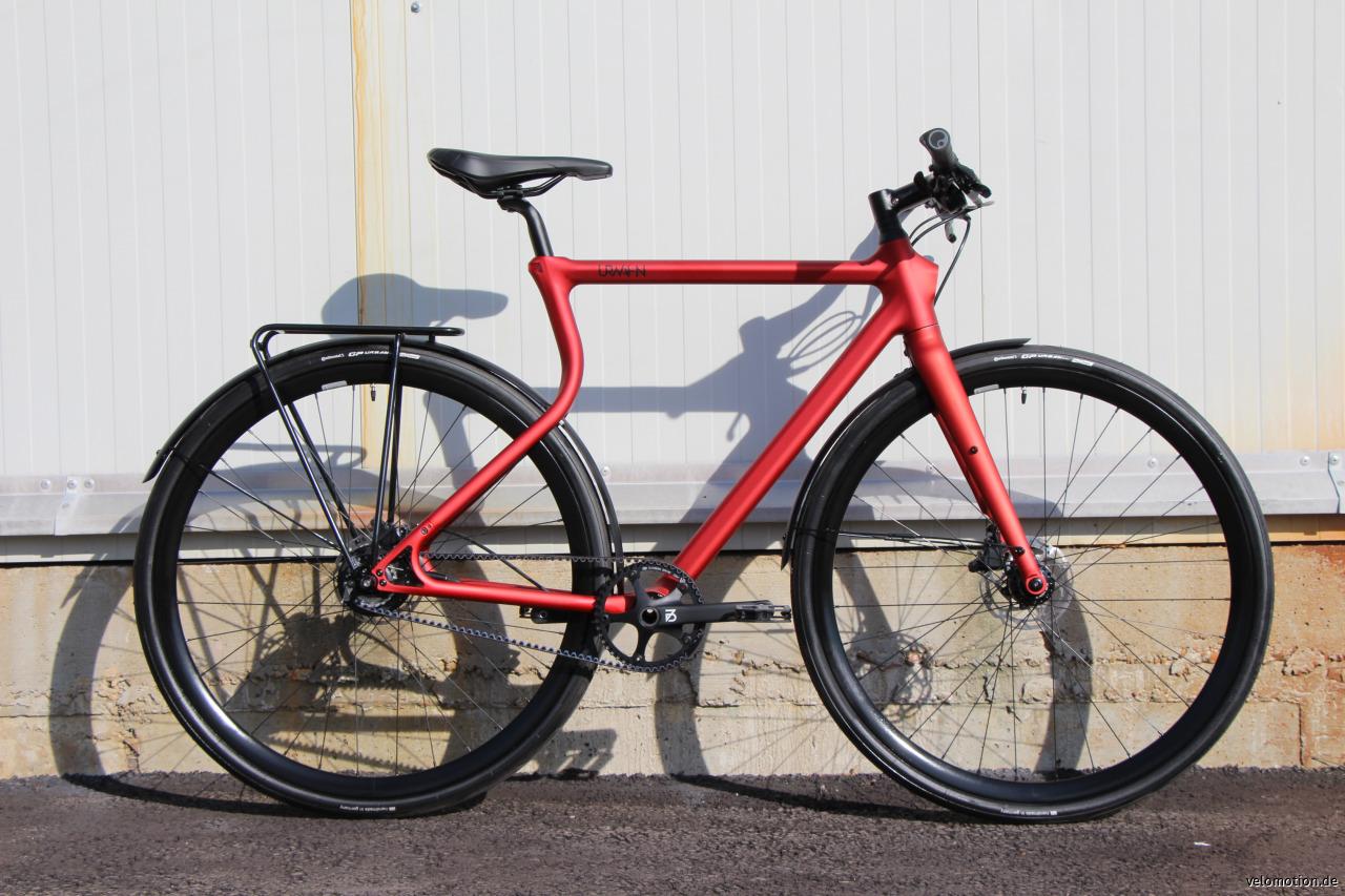URWAHN | Stadtfuchs GrXS Urban Bike Stahl 11G GPS
