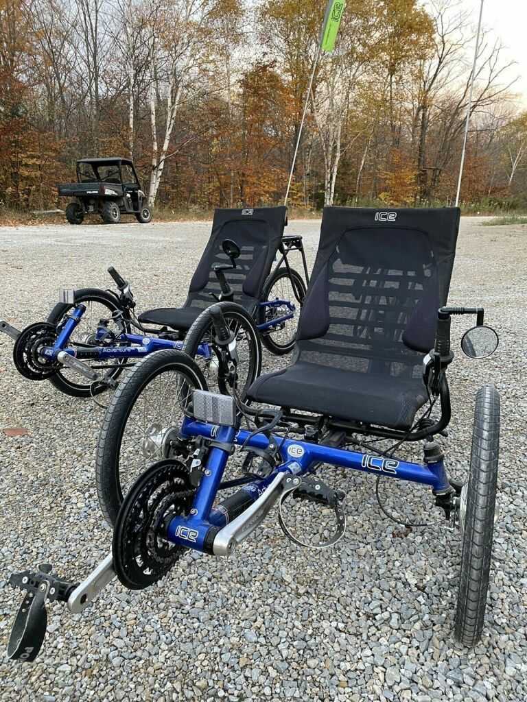 ICE Adventure Recumbent Trike Twist Grip Shift HD