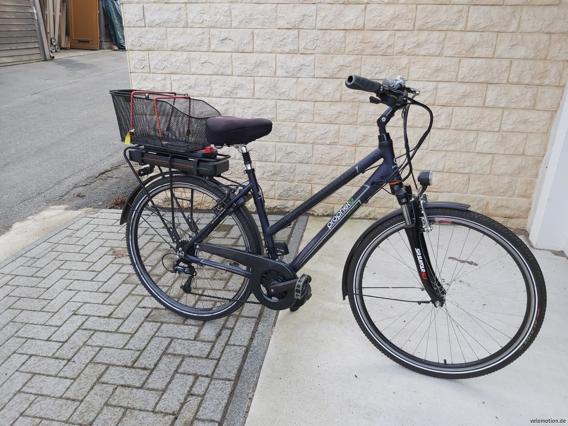 E-Bike Damenrad #1
