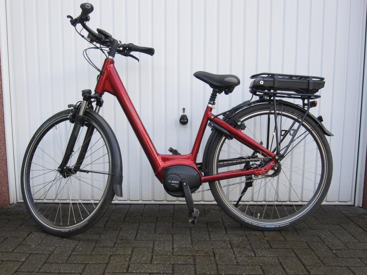 e-bike 28 RH 45 cm VeloDeVille, 28 KM gefahren