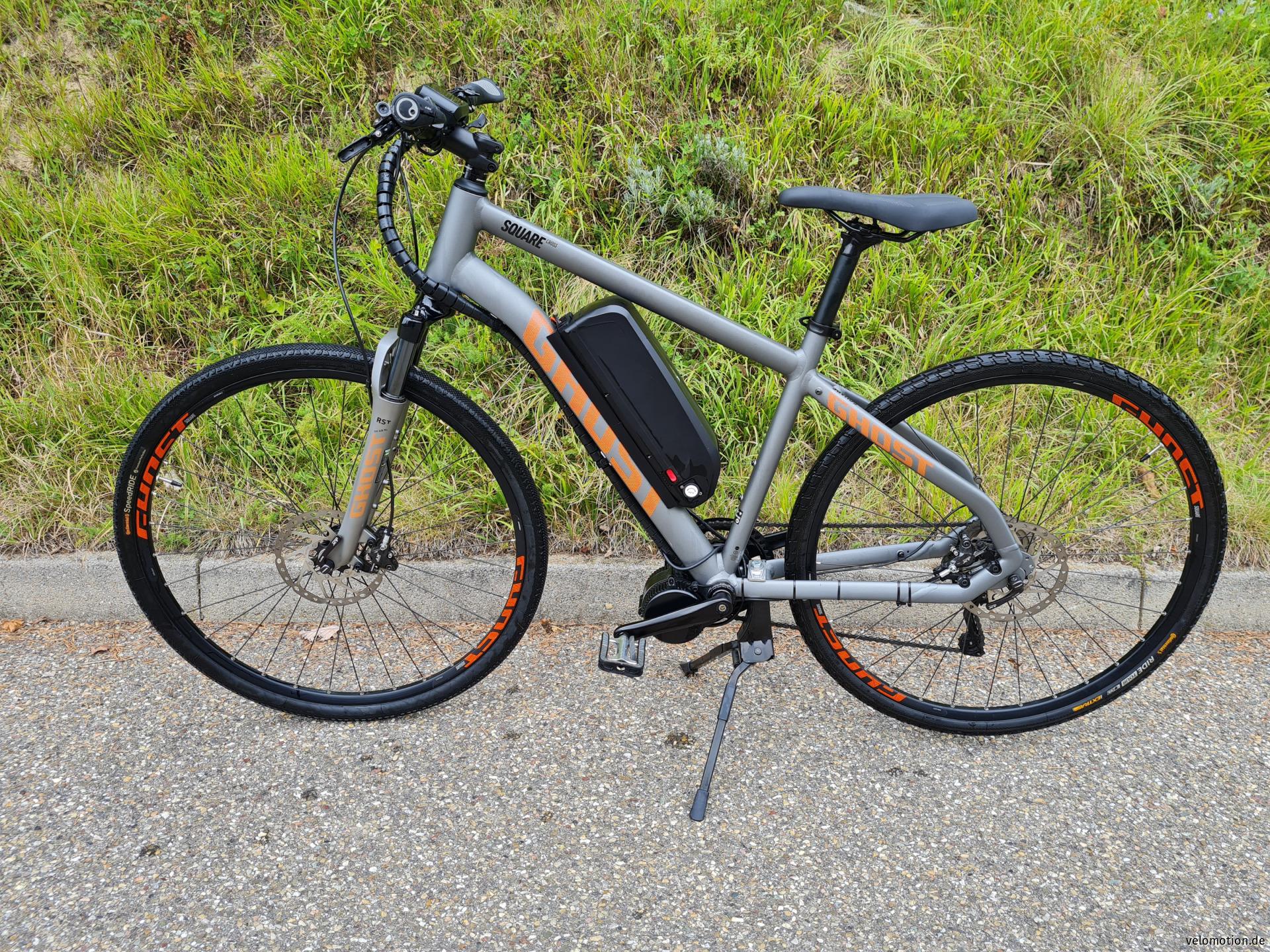 E-Bike Ghost Square Cross 7 Bafang #1