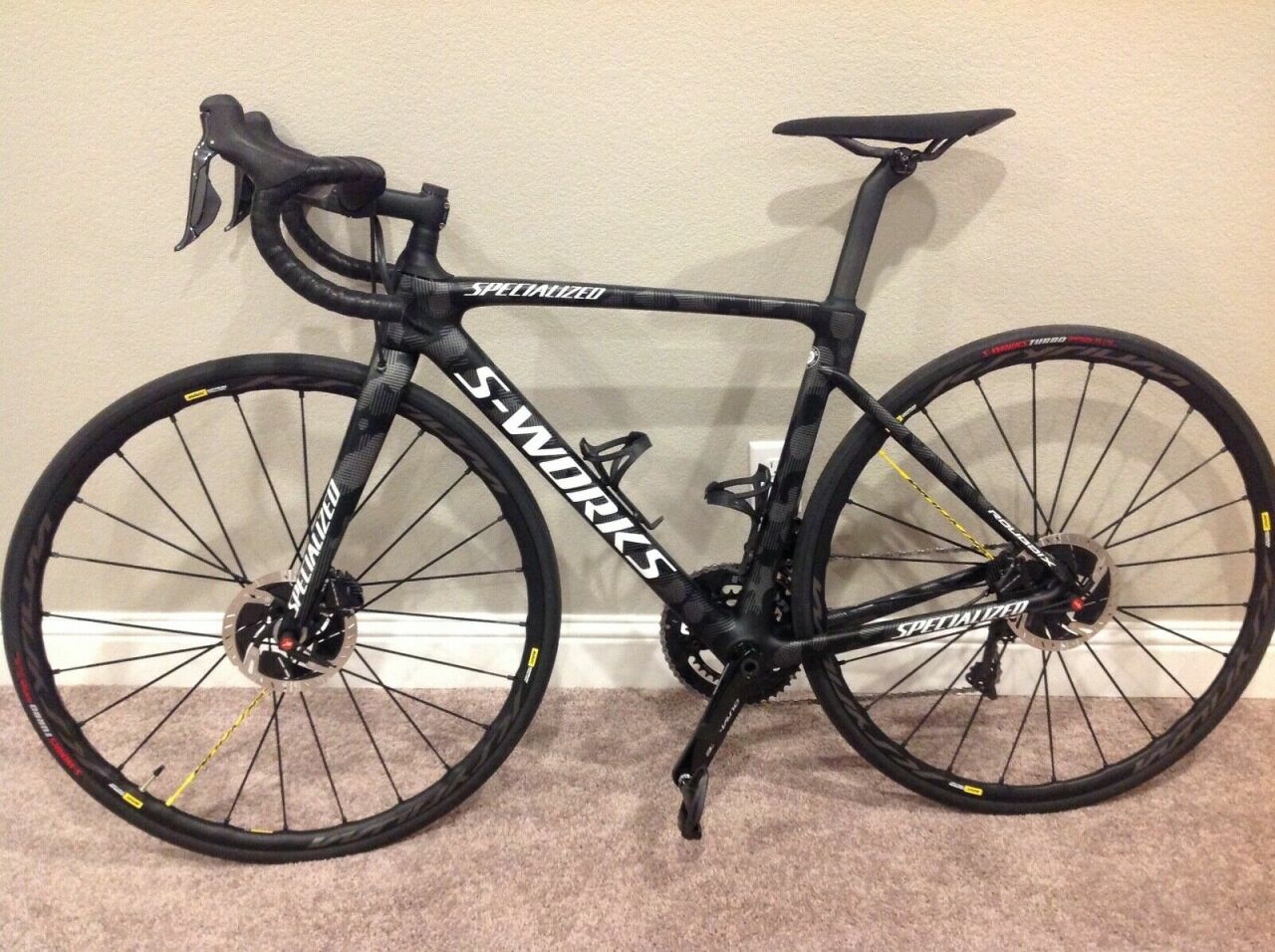 Specialized 2020 S-Works Roubaix Team Edition 53 C