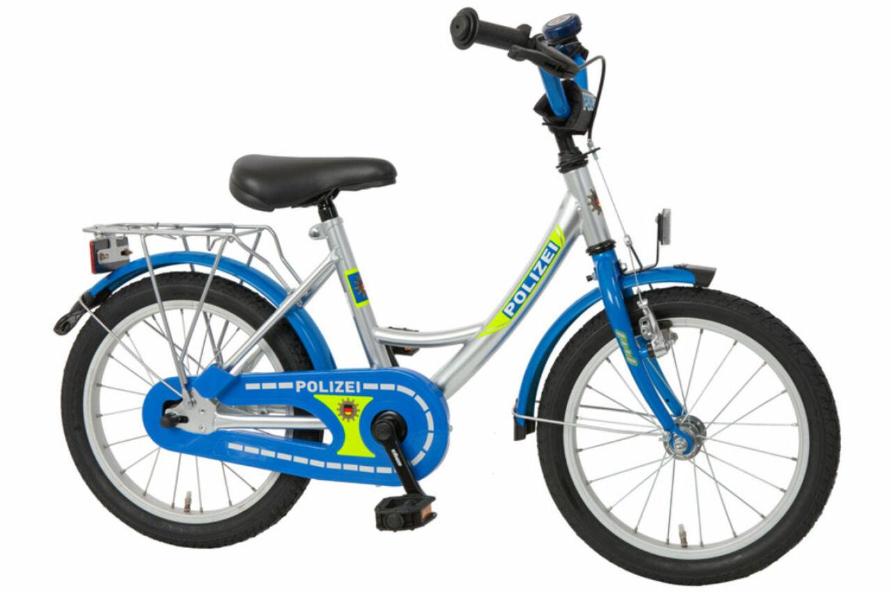 Polizei Kinderrad 16