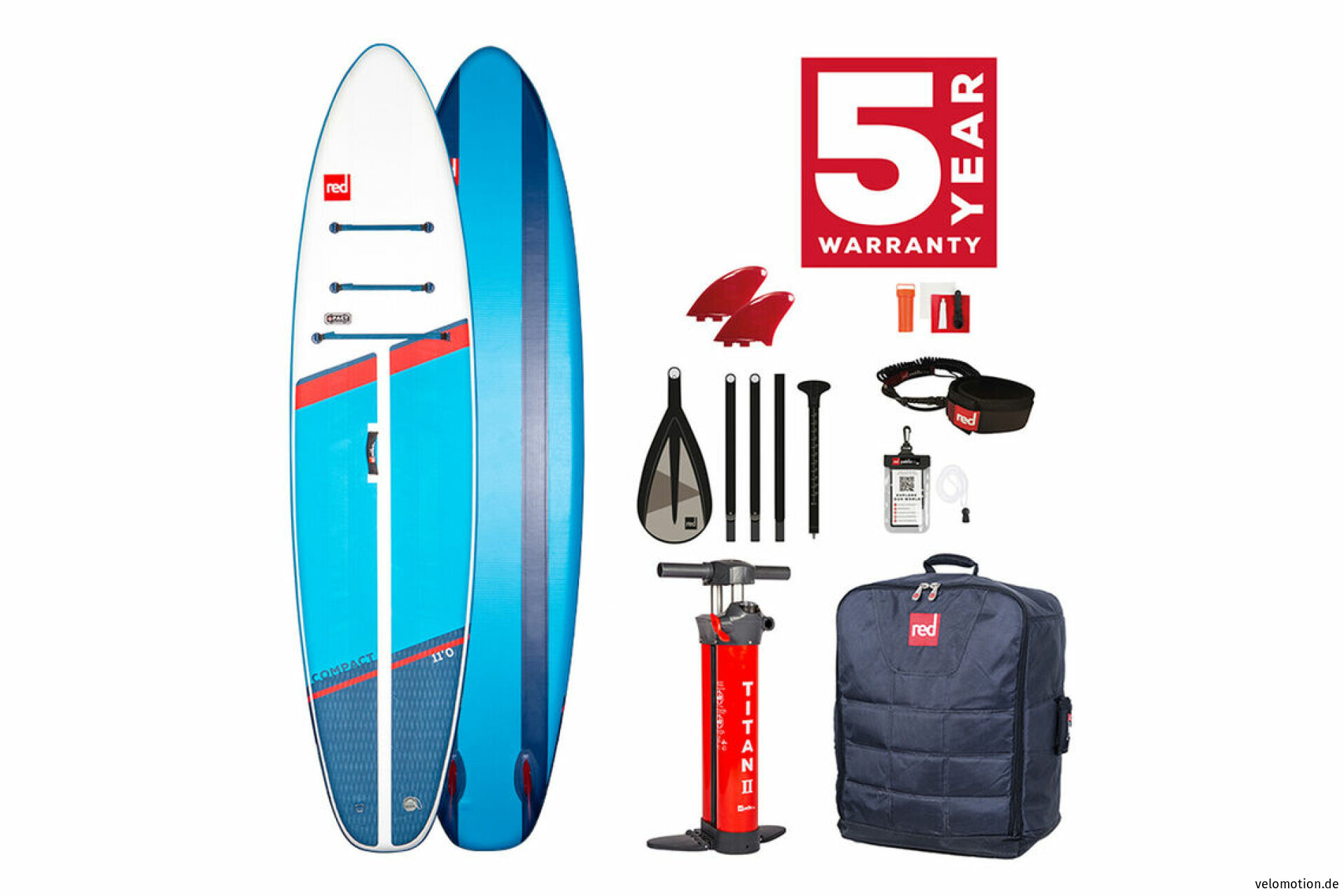 """Red Paddle COMPACT 9'6"""" Set #1"""