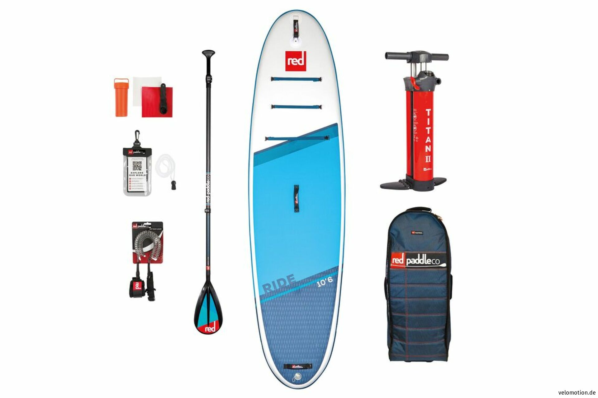 """Red Paddle RIDE 10'6"""" Set SUP #1"""