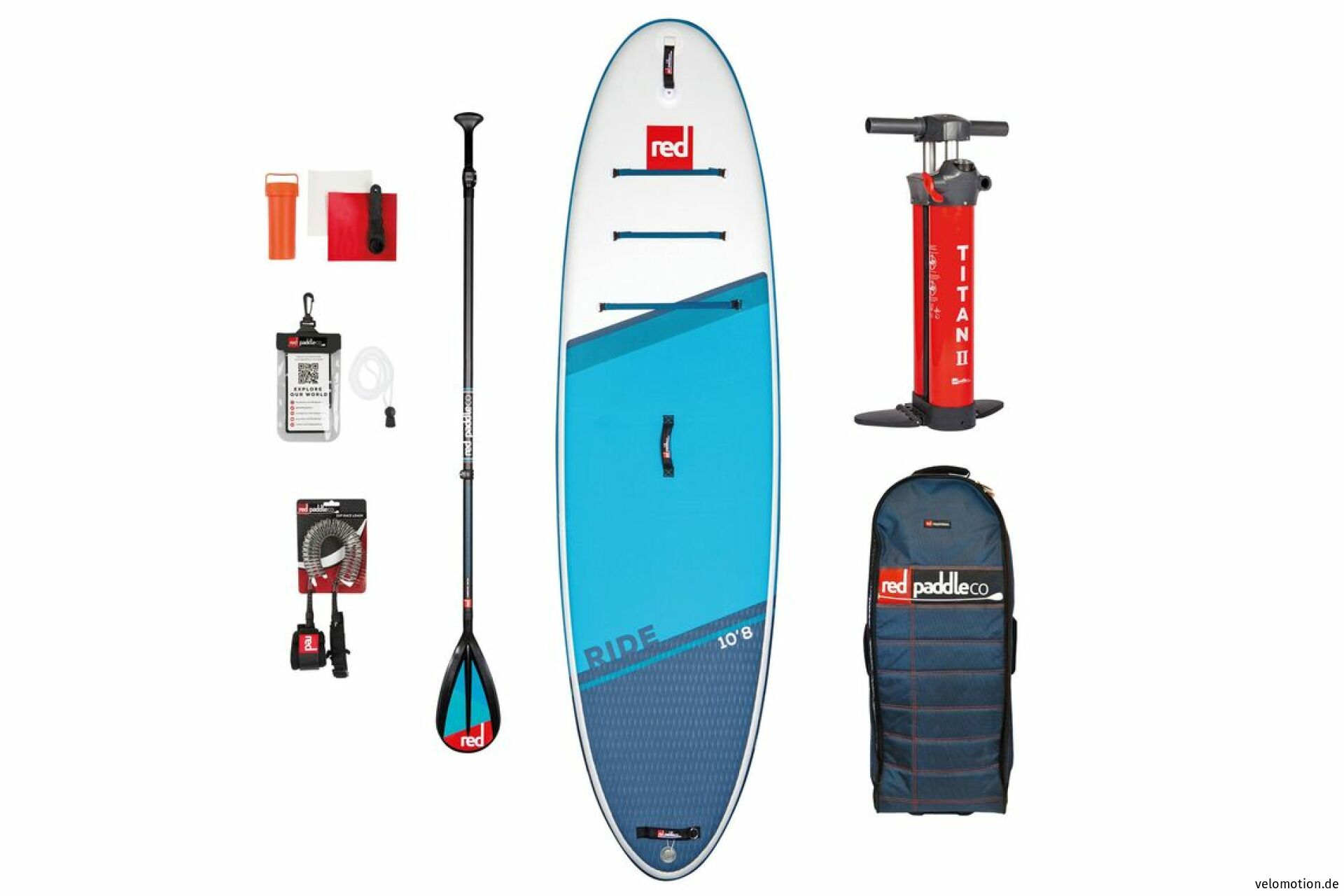 """Red Paddle RIDE 10'8"""" Set SUP #1"""
