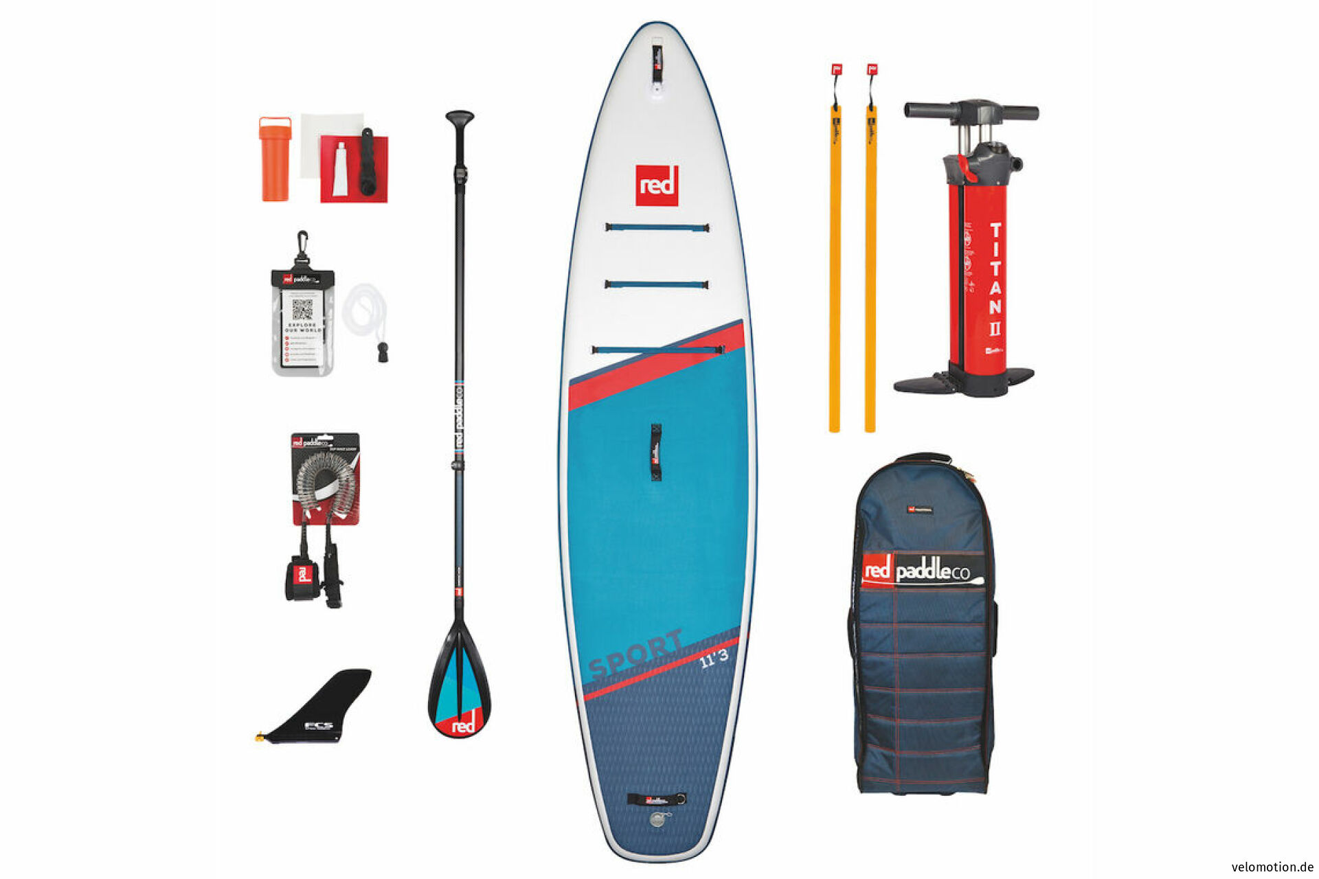 """Red Paddle SPORT 11'3"""" Set SUP #1"""