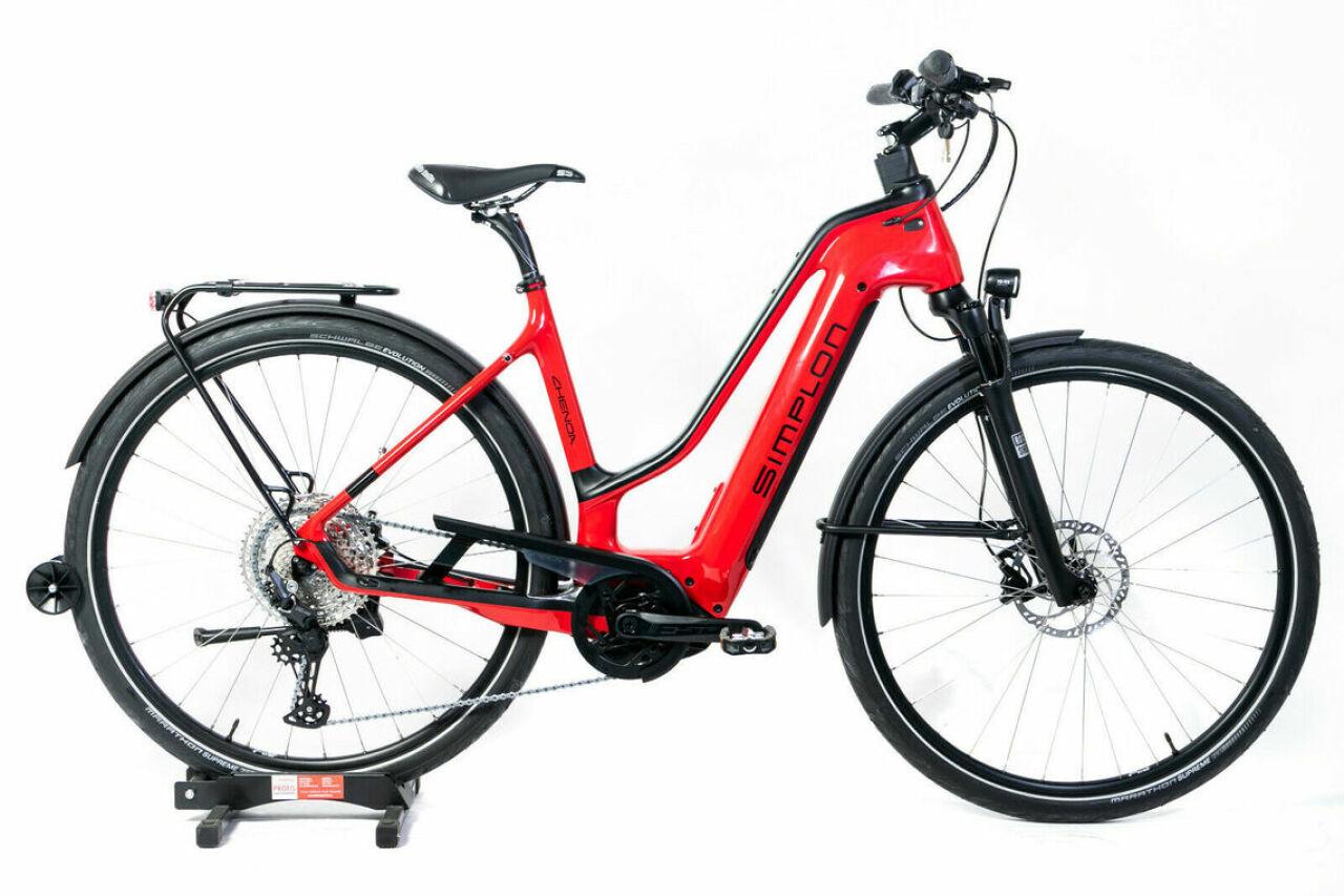 Simplon, Chenoa Bosch CX Da M red, E-Bike