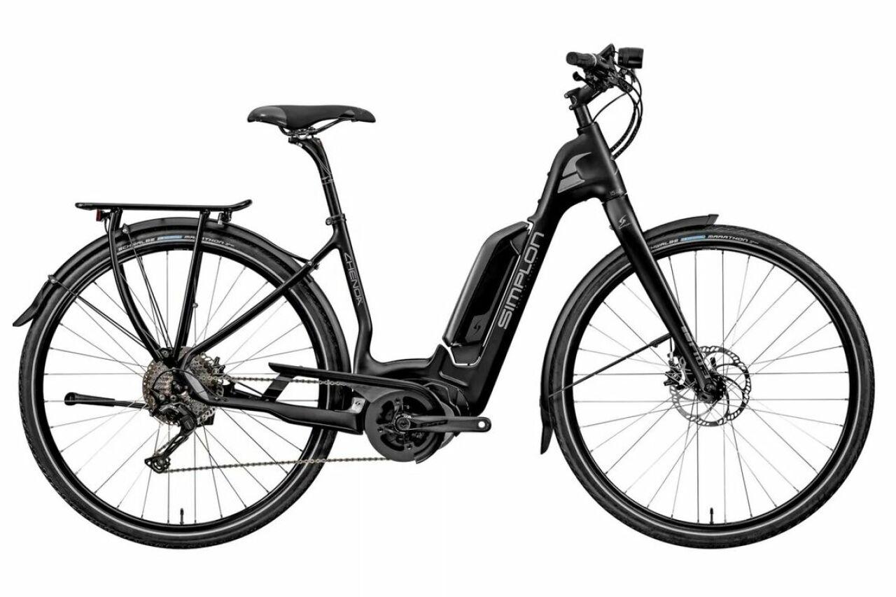 Simplon, Chenoa Bosch CX He L black, E-Bike