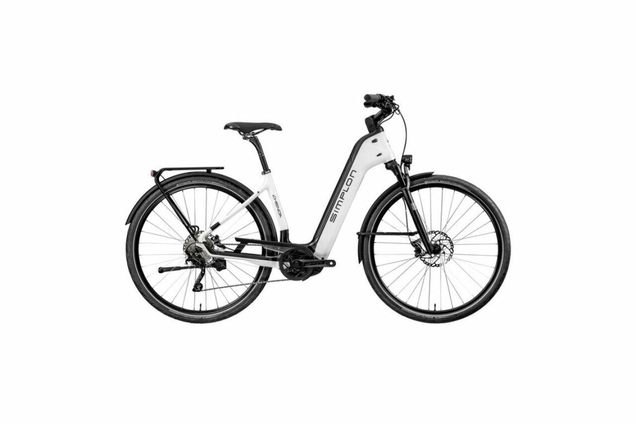 Simplon, Chenoa Bosch CX Uni L white, E-Bike