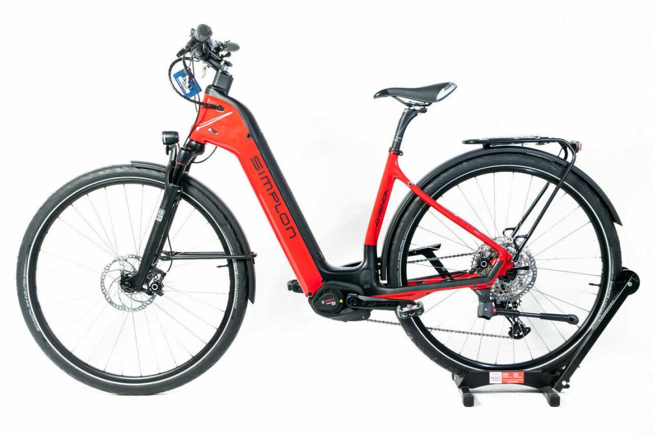 Simplon, Chenoa Bosch CX Uni M red, E-Bike