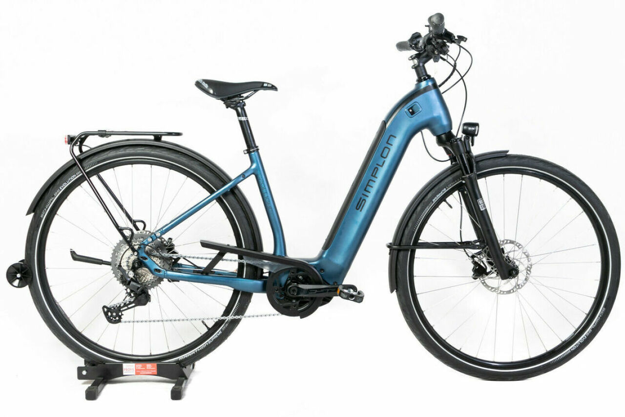 Simplon, Spotlight CX Uni 50cm blue, E-Bike