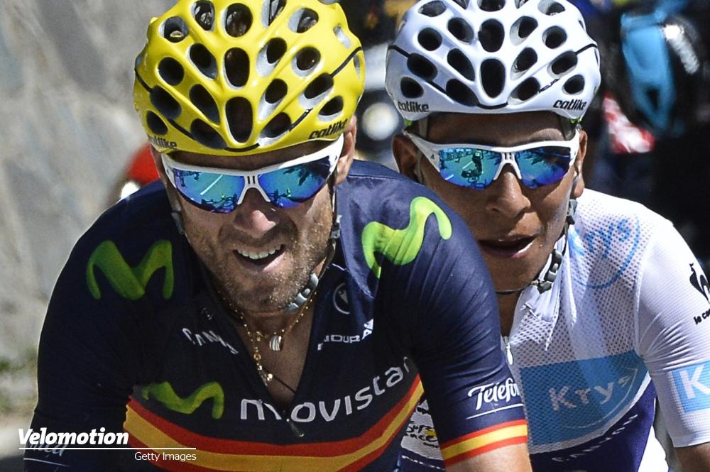 Vuelta Favoriten Quintana Valverde