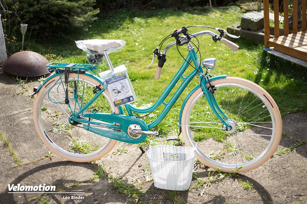 aldi fahrrad im test probefahrt mit dem cyco alu bike velomotion