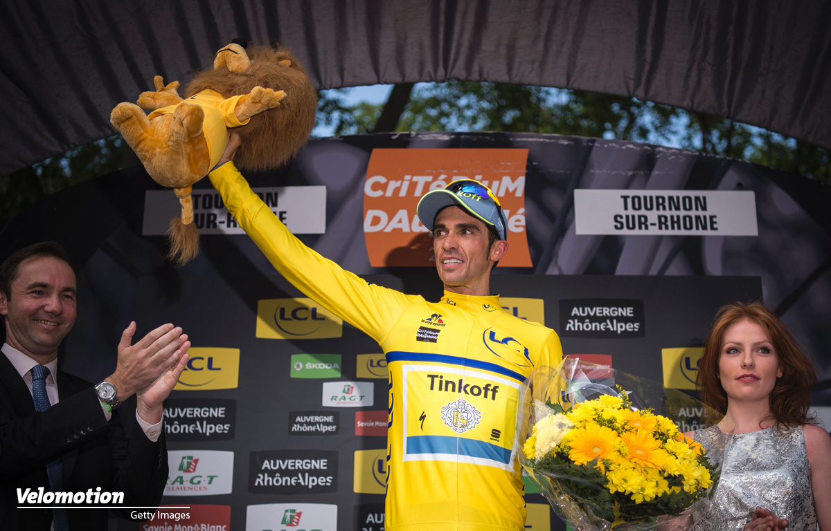 Tour de France Teams 2016 Contador Tinkoff
