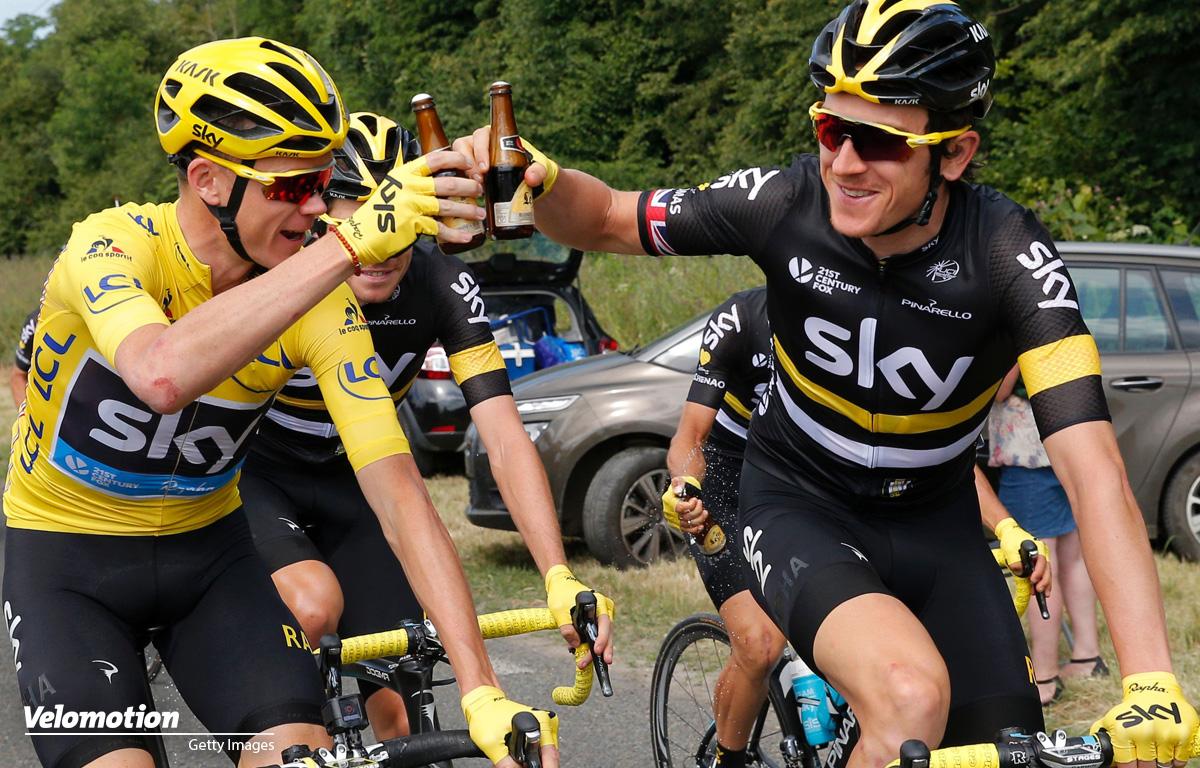 Vuelta Teamvorstellung Chris Froome