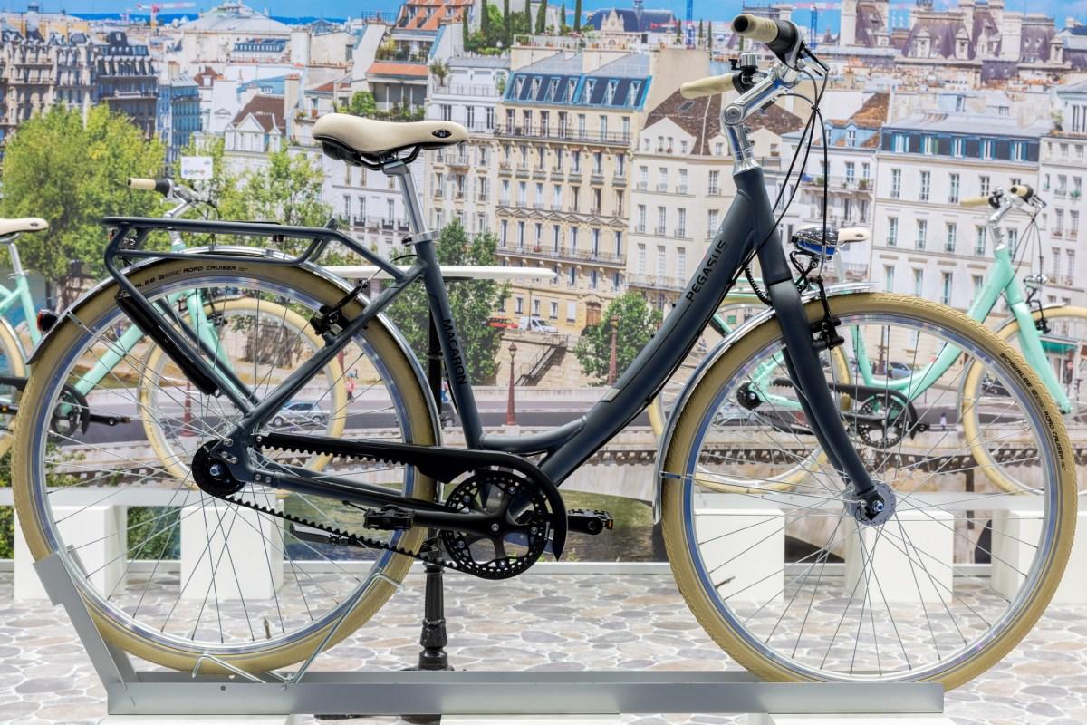 pegasus macaron stylisches retro bike mit und ohne motor. Black Bedroom Furniture Sets. Home Design Ideas