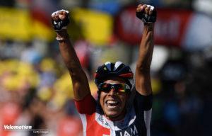 Jarlinson Pantano gewann eine Etappe bei der Tour de France und tritt nun mit einem starken kolumbianischen Team in Rio an.