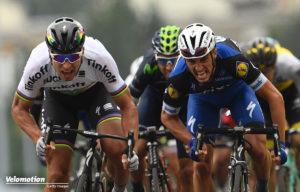Auch heute könnte es wieder zum Duell zwischen Peter Sagan und Julian Alaphilippe kommen.