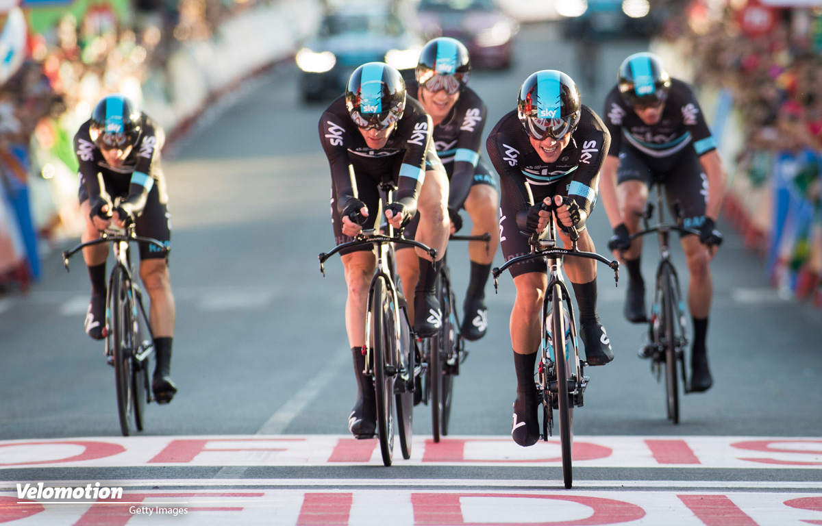 Vuelta a España Teamzeitfahren