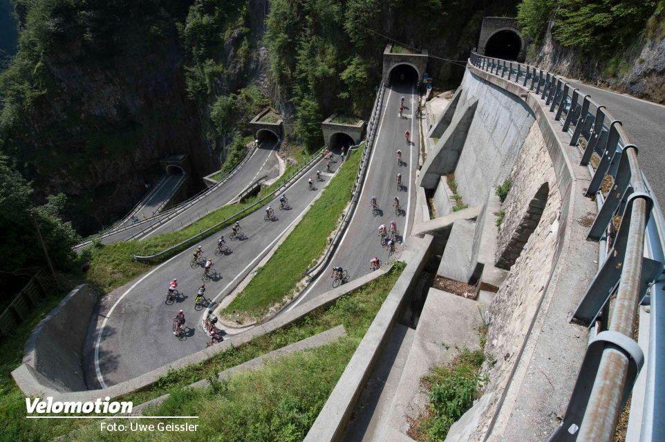Die Strecke der Tour Transalp 2021 steht