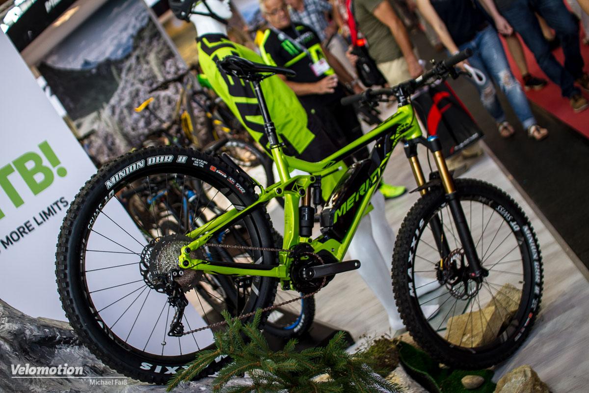 b63f586585d  Eurobike 2016  Merida E-Bikes 2017  Volle MTB-Power mit Shimano Antrieb -  Velomotion