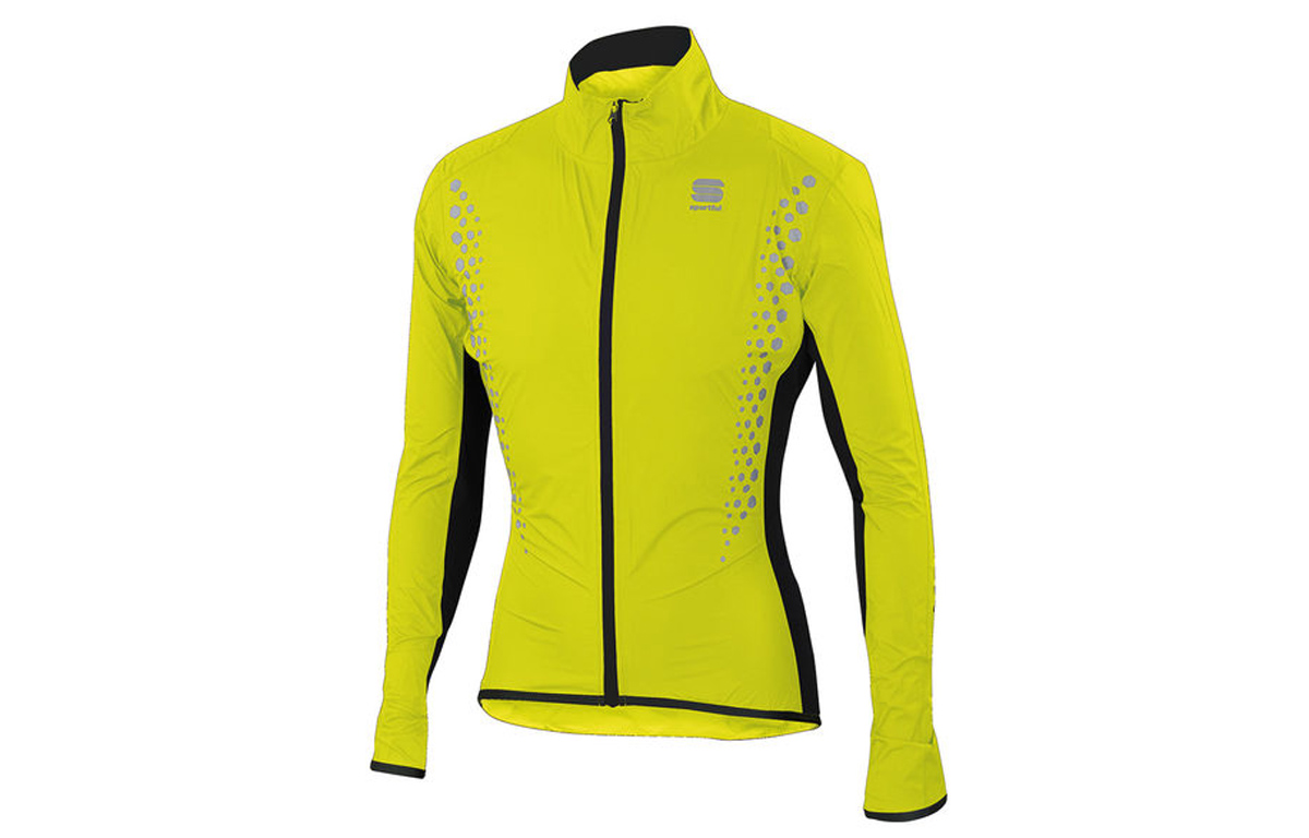 test sportful hotpack hi viz norain regenjacke velomotion. Black Bedroom Furniture Sets. Home Design Ideas