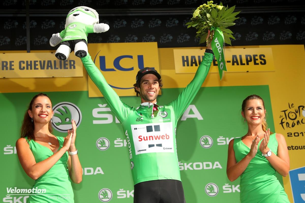 Grünes Trikot Tour de France 2019