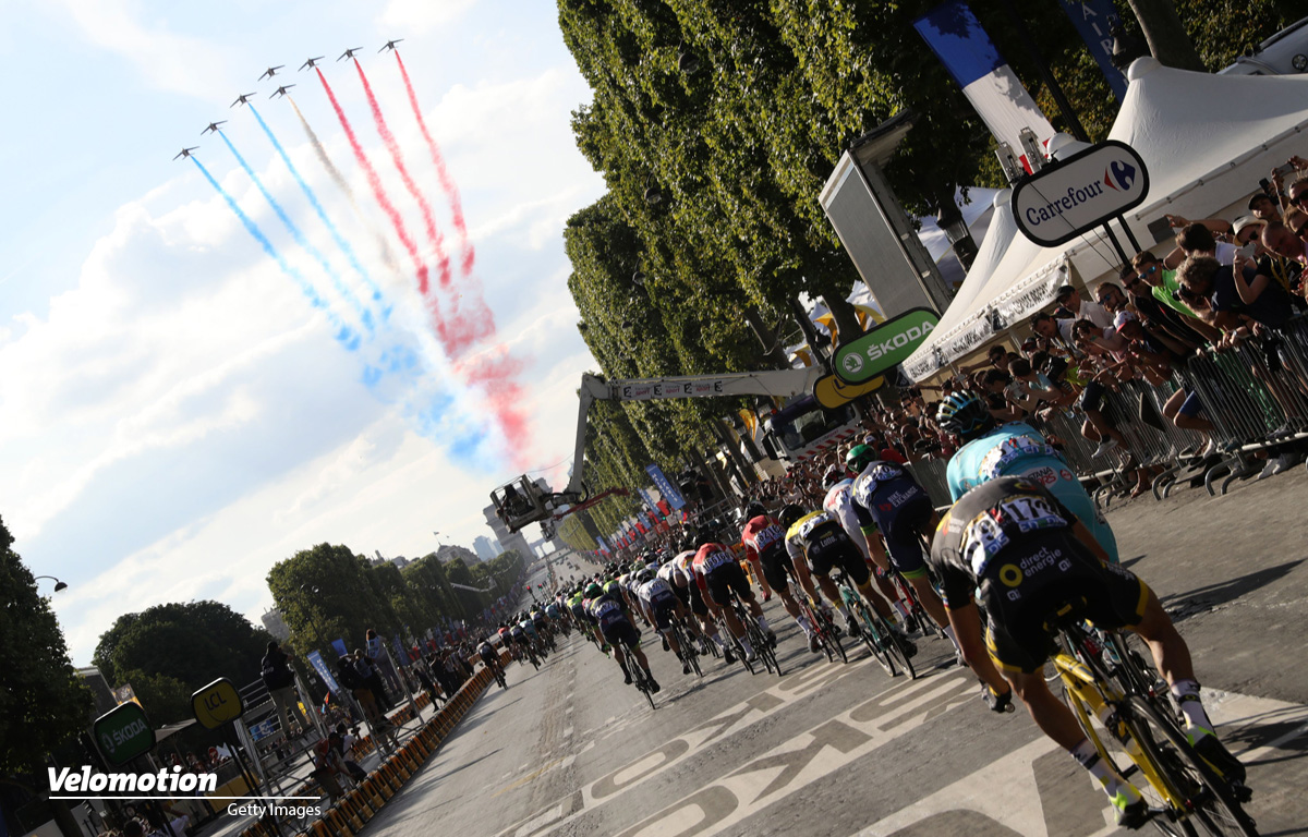 Tour de France Champs-Elysees