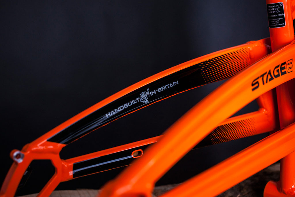 Orange Stage 6 Optik