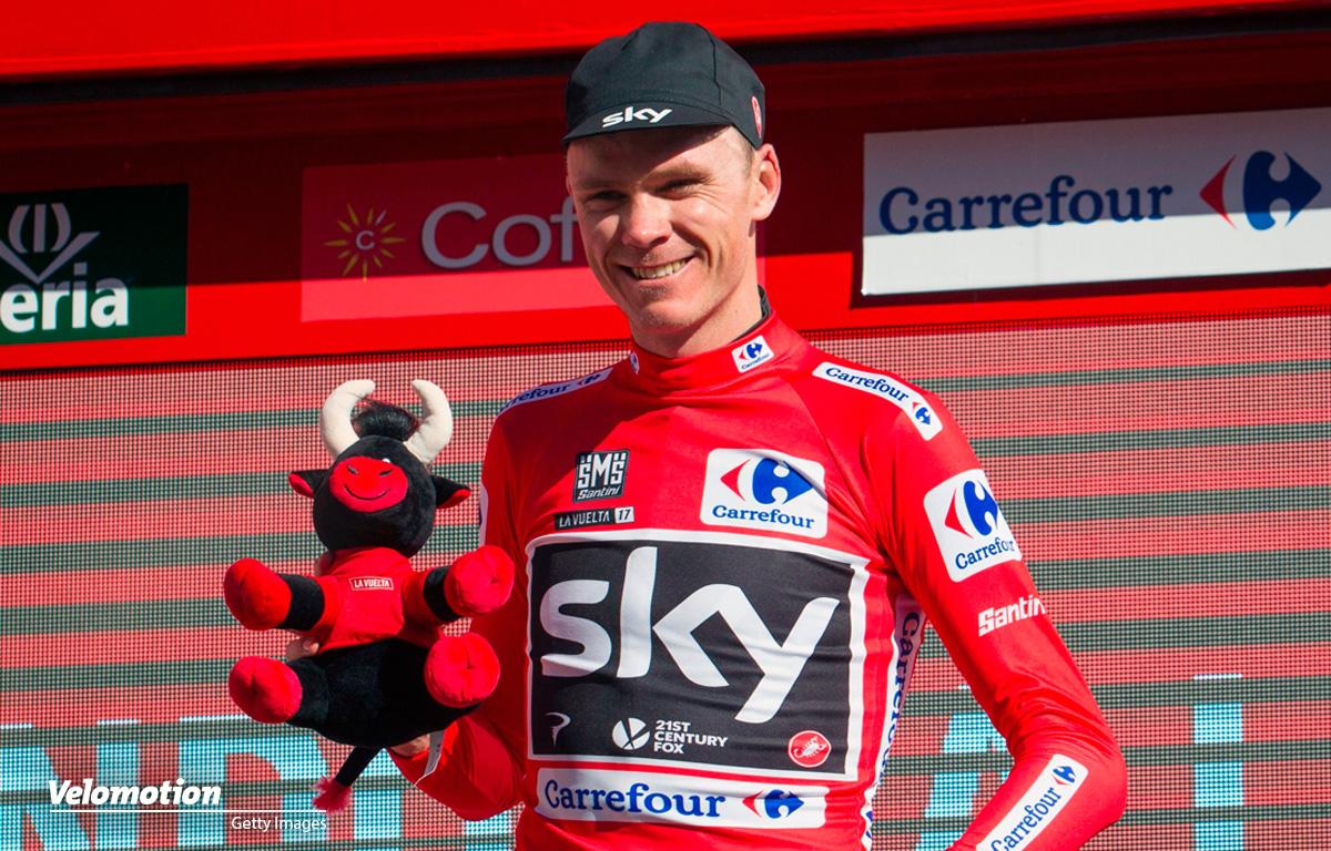 Chris Froome Vuelta