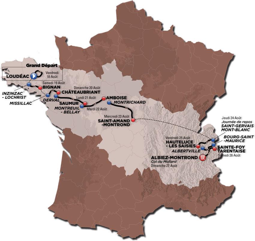 Tour de l'Avenir 2017