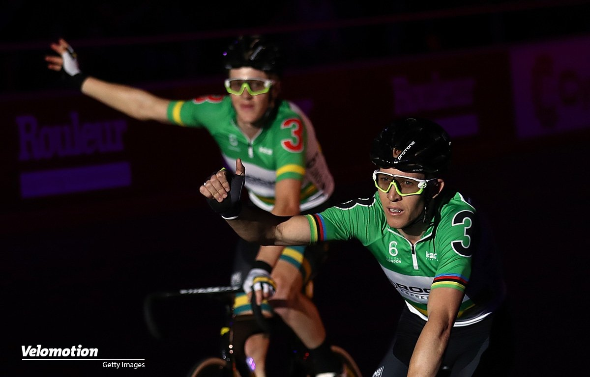 Sixday London Callum Scotson Cameron Meyer