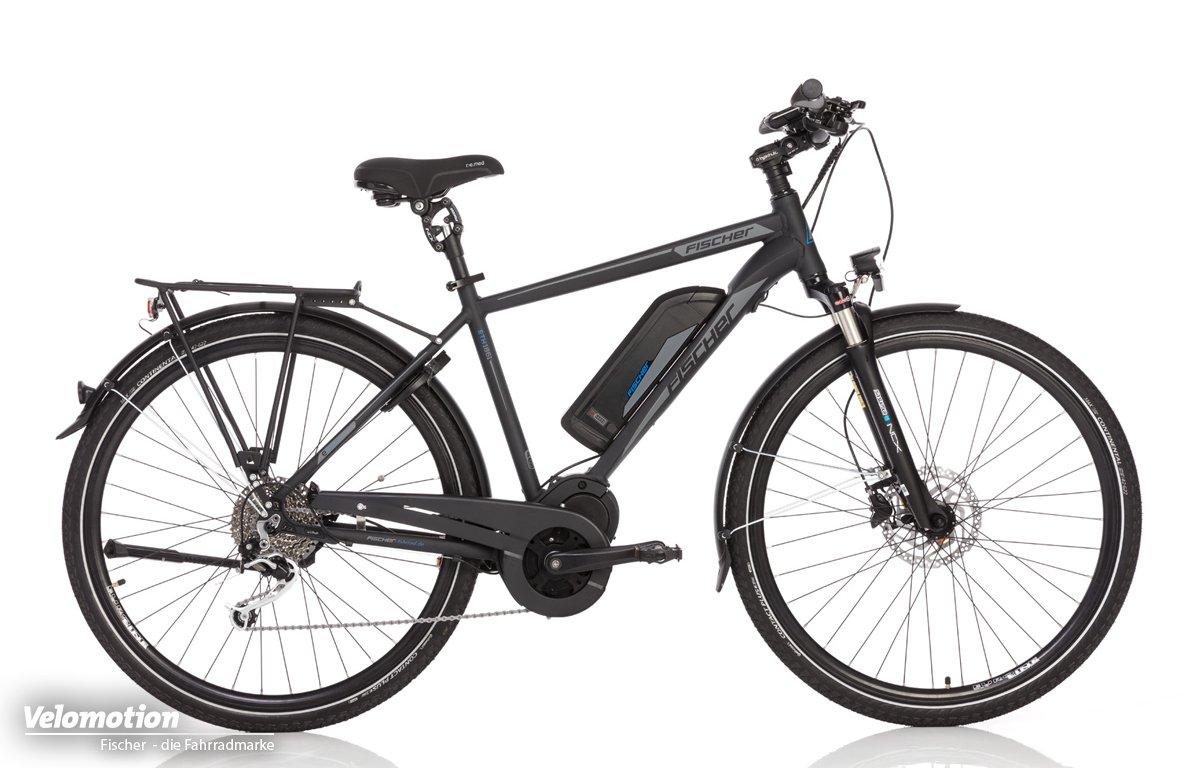 e9f3f13f13aab5 Fischer Trekking E-Bikes 2018 Vorstellung - Velomotion
