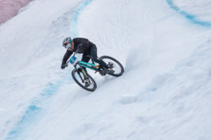 Tom Rieger beim Ride Hard on Snow Lienz