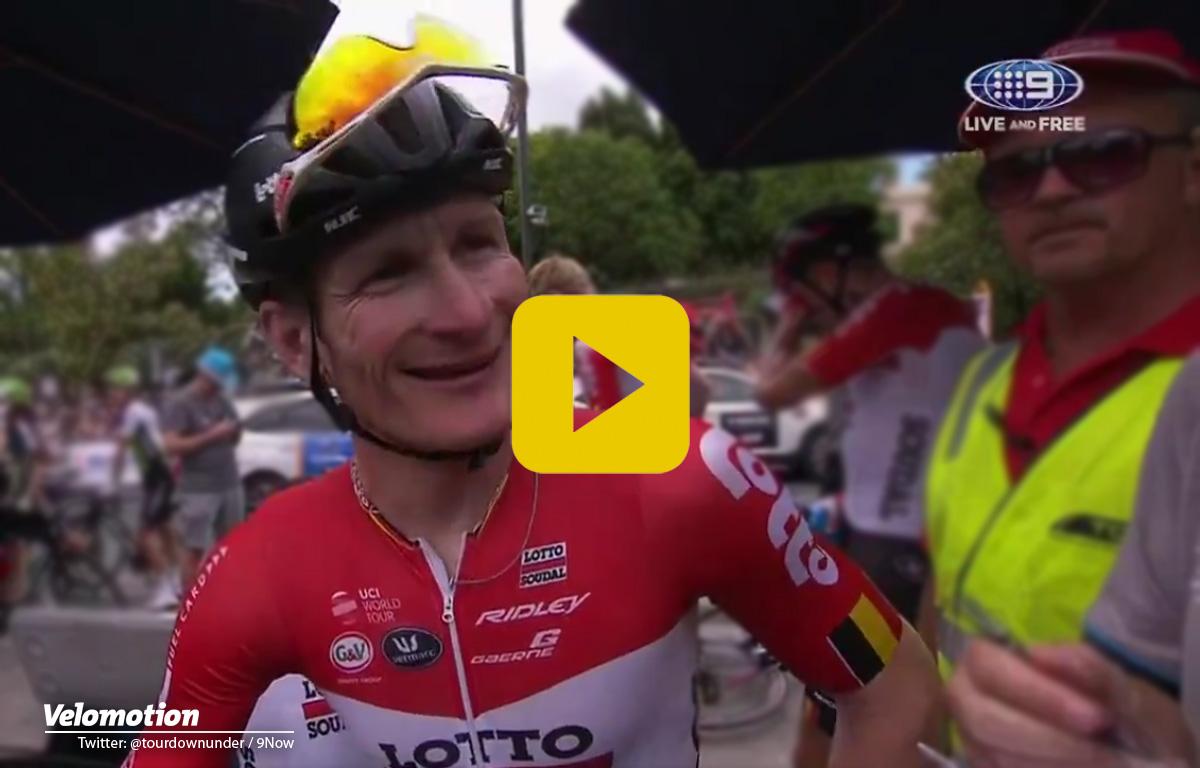 Greipel Tour Down Under Interview