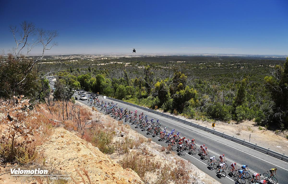 Tour Down Under Etappe verkürzt Hitze