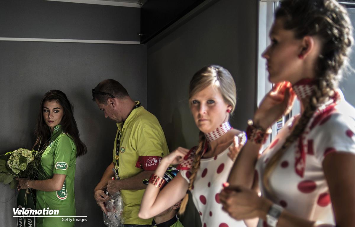 Tour de France Podium Girls
