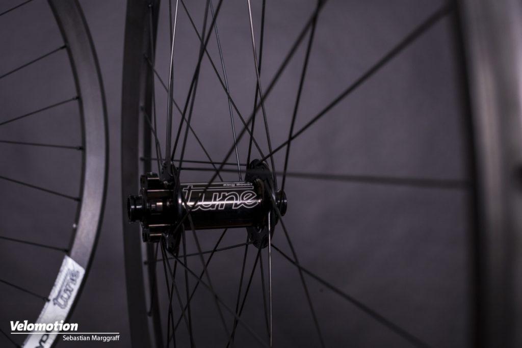 Tune Endurorider Laufräder Nabe Vorne Bremsseite
