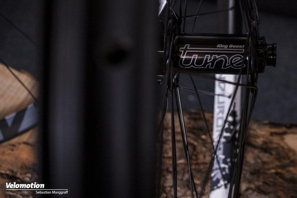 Tune Endurorider Laufräder Nabe Detail